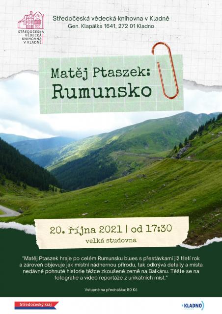 Matěj Ptaszek: Rumunsko
