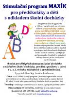Stimulační program Maxík pro děti s odkladem, s obtížemi v grafomotorice