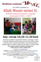 Klub mami-mimi II pro miminka narozená 9/2016 - 1/2017