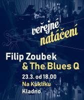 Veřejné natáčení - Filip Zoubek & The Blues Q