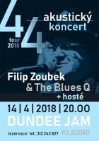44 tour - Filip Zoubek & The Blues Q