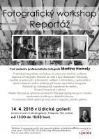 Fotografický workshop – Reportážní fotografie