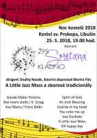 Noc kostelů 2018, kostel sv. Prokopa, Libušín