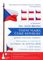 Přednáška Vlajka České republiky