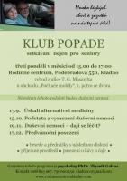 Klub POPADE - setkávání nejen pro seniory
