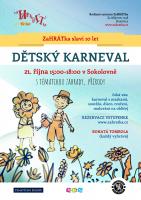Dětský karneval v Hostivicích v Sokolovně