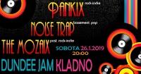 PANKIX & NOISETRAP & kladenští MOZAIX - koncert+afterparty