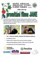 Promítání dokumentárního filmu JANE