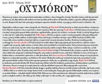 """""""OXYMÓRON"""" vernisáž výstavy mladých kladenských umělců"""