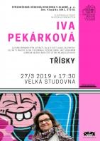 Iva Pekárková: Třísky - autorské čtení