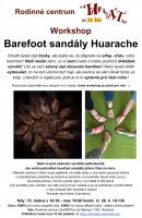 Barefoot sandále - vlastní originální vytvoříte na workshopu