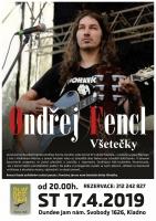 ONDŘEJ FENCL: VŠETEČKY koncert&literární večer