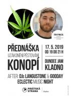 PŘEDNÁŠKA KONOPÍ - TOM VYMAZAL - after party : Langustone&Gooday/vstup zdarma