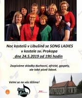 Koncert Song Ladies - NOC KOSTELŮ