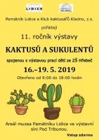11. ročník výstavy kaktusů a sukulentů