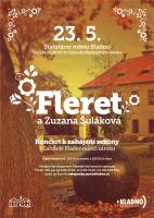 Fleret a Zuzana Šuláková v Zahradě Kladenského zámku