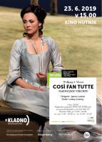 W.A.Mozart: Cosi Fan Tute - metropolitní opera v kině Hutník