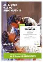 Giuseppe Verdi: Trubadúr - metropolitní opera v kině Hutník