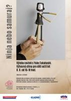 Ninja nebo samuraj? Výroba loutek s Yuko Takahashi