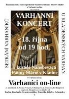 Varhaníci on-line - varhanní koncert