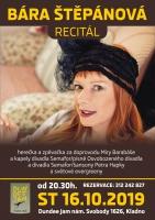 BÁRA ŠTĚPÁNOVÁ S KAPELOU I PÍSNĚMI DIVADLA SEMAFOR, koncert, vstupenky v prodeji