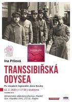 Ina Píšová: Transsibiřská odysea. Po stopách legionáře Jana Kouby.
