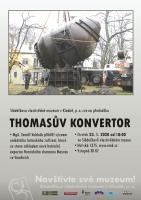 Thomasův konvertor součástí nové hutnické expozice