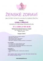Kamila Jiříková: Ženské zdraví