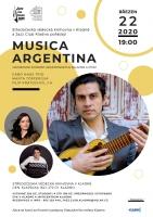 Musica Argentina – Gabo Naas Trio, Marta Tőpferová a Filip Kratochvíl, j.h.