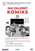 Jak zalidnit komiks. Workshop s ilustrátorkou Štěpánkou Jislovou.
