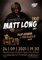 International Blues Night II. - Matt Long Trio (UK)